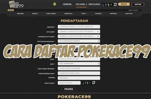 Langkah Daftar Member di Pokerace99
